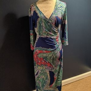 Laundry By Design Long Sleeve Maxi Dress